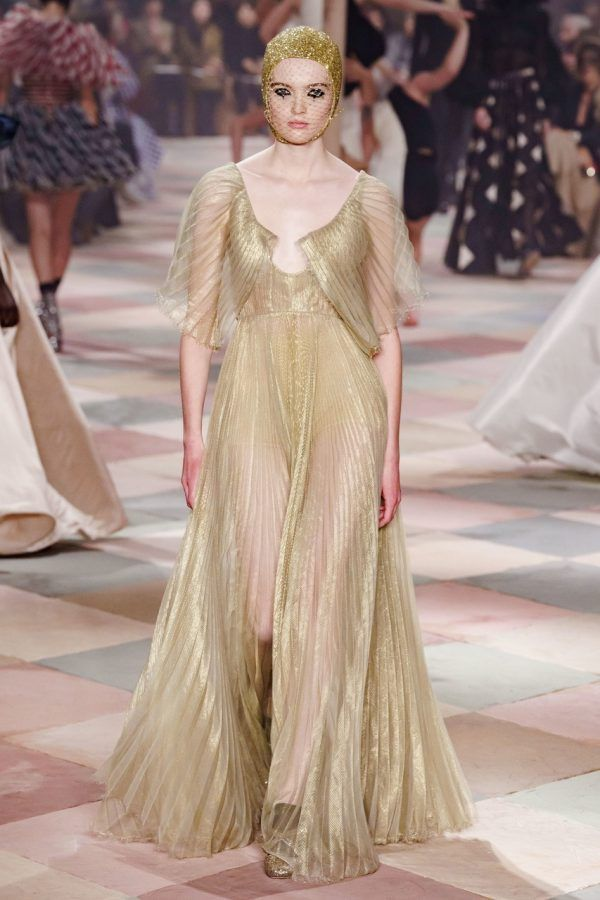 b99719039 Descending upon the City of Lights was a fashion circus as Maria Grazia  Chiuri started off the Paris Haute Couture Fashion Week with her.