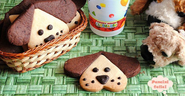 Una colazione divertente insieme a questi biscotti cagnolino! Coinvolgete anche i vostri pargoli e trascorrerete insieme un pomeriggio in totale allegria!