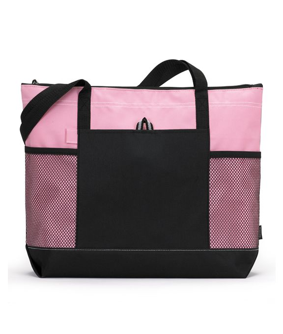 Gemline Select Zippered Tote Bag