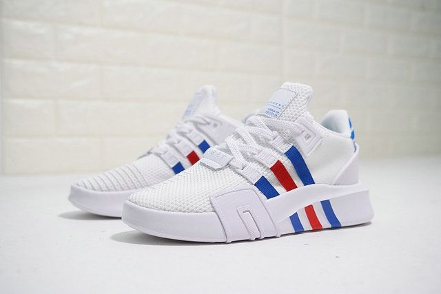 new product 603ba a78ee Top Quality Adidas EQT Basketball ADV White Blue Red Ac7185 2018 Popular  Shoe