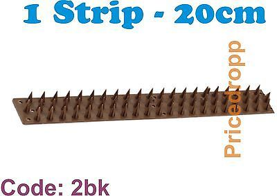 200mm GARDEN FENCE FENCING SPIKES STRIPS INTRUDER WALL PRICKLE GUARD ANTI CLIMB