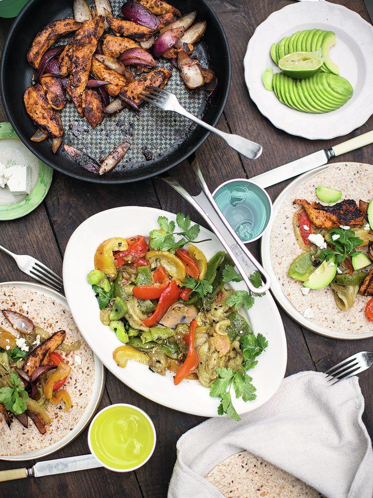 Chicken Fajitas | Jamie Oliver | Family Super Food