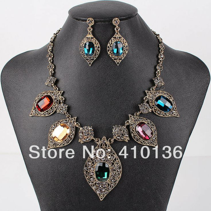 BCS501 Hot Sale Fashion Jewelry Sets Classic  Design Crystal Beads Woman's Necklace Set Bridal Jewelry High Quality Party Gifts  $338,66