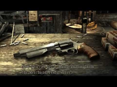 Resident Evil 4 Handcannon Run DONE...Hunk/Base lanAudrey
