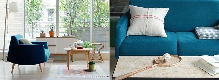 雙人沙發。MUJI meets IDÉE | MUJI 無印良品
