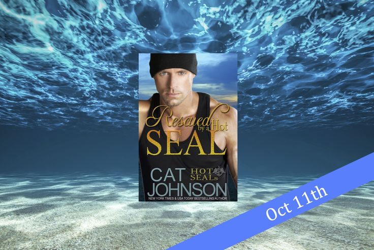 In eBook & Print Oct 2016, Rescued by a Hot SEAL in the USA Today bestselling Hot SEALs series by NY Times bestselling contemporary romance author Cat Johnson CatJohnson.net/hot-seals
