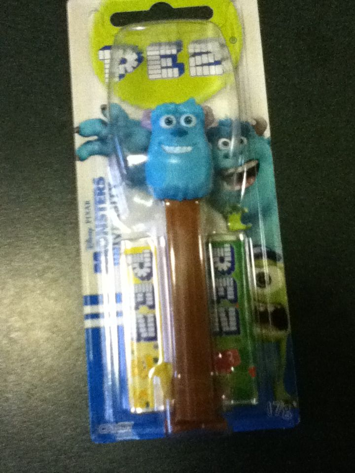 Sulley is a PEZ dispenser!