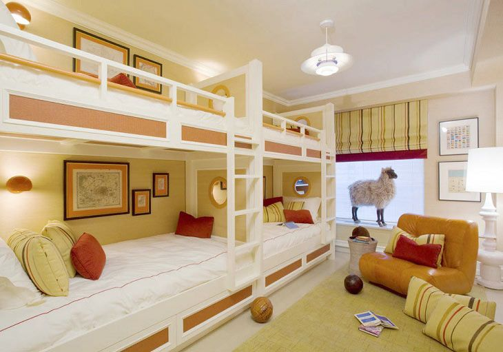 двухэтажные детские кровати фото