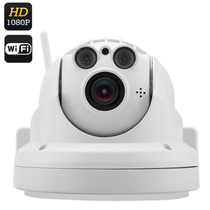 Wireless PTZ IP Camera