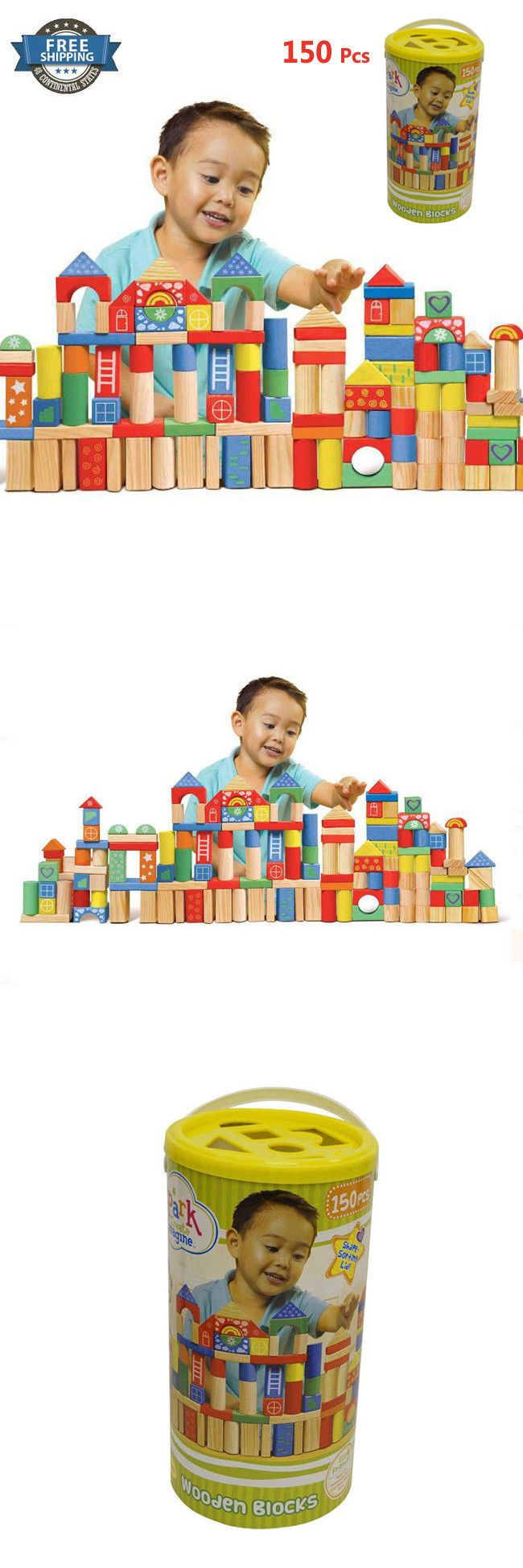 Blocks and Sorters 100225: Baby Toy 18 Months For 1 2 3 4 5 Year Best Boys Girls Toddler Children Gifts Age -> BUY IT NOW ONLY: $36.9 on eBay!