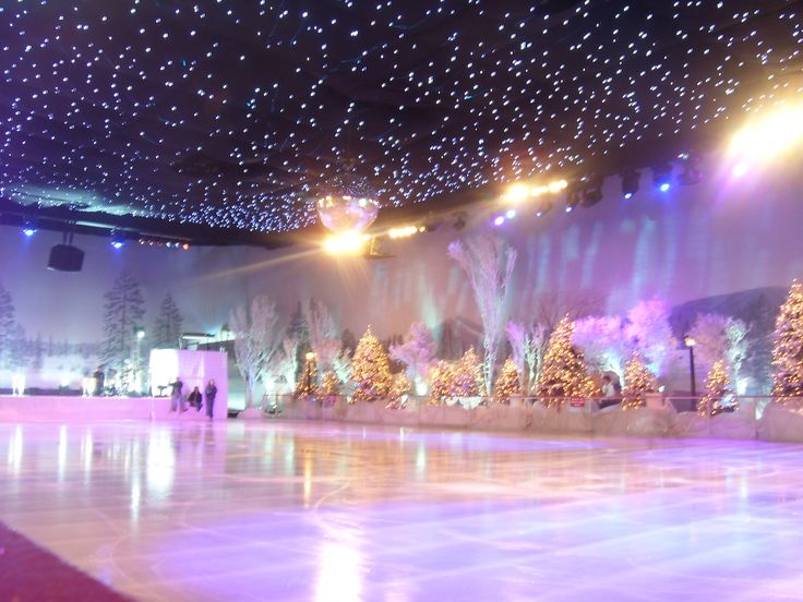 A Beautiful Ice Skating Rink | Ice Shows