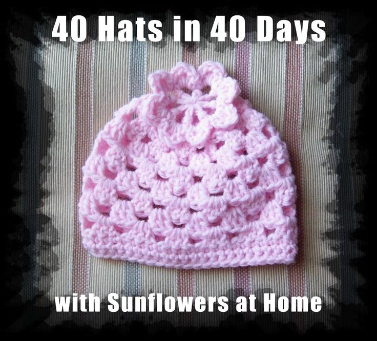 Crochet Granny Stitch Beanie Hat - Picture Idea