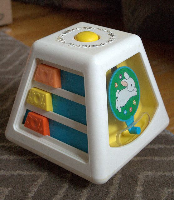 Fisher Price Baby Spinner Toy
