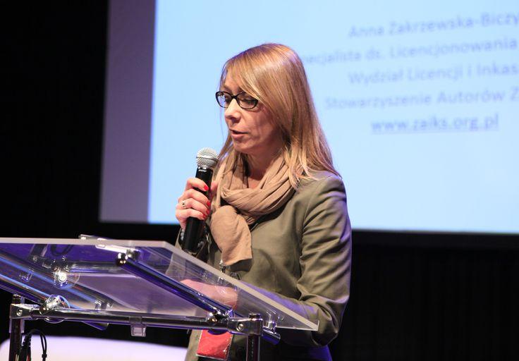 Anna Zakrzewska-Biczyk (Internet Licencing Specialist, ZAiKS) presenting: New ways of distribution, new ways of licencing