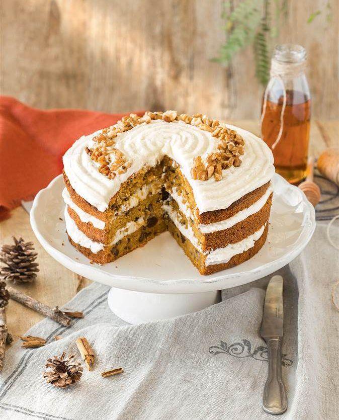 Pastel de zanahoria: dulce tentación... ¡sin azúcar!