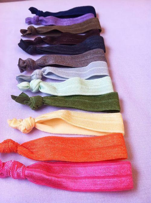 Easy, Frugal, #DIY Hair Ties