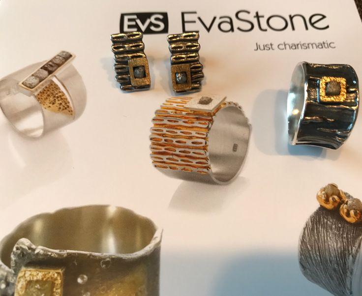 NEW! Jewelry with diamonds by Eva Stone in Margot Studio #silver #gold #diamonds #jewelry #Margot Studio #new  http://www.margot-studio.pl