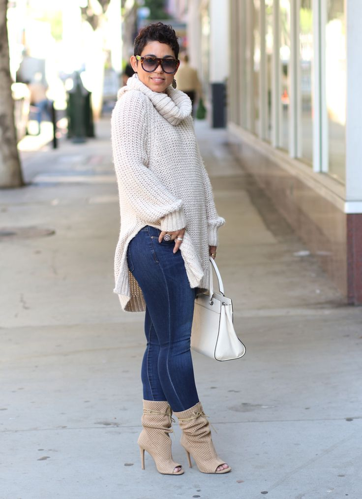 Huge Sweater + The Best Boots Ever!!! - Mimi G Style - Women's Fashion and Style