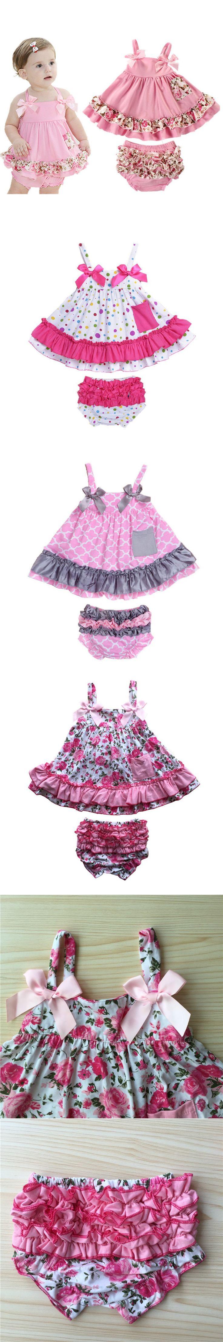 2016 Retail Baby Girl Dress Newborn Baby Girl Clothes Body Bodysuits Sling Bat Roupas Body Bebes Next Baby Clothing Set D-01