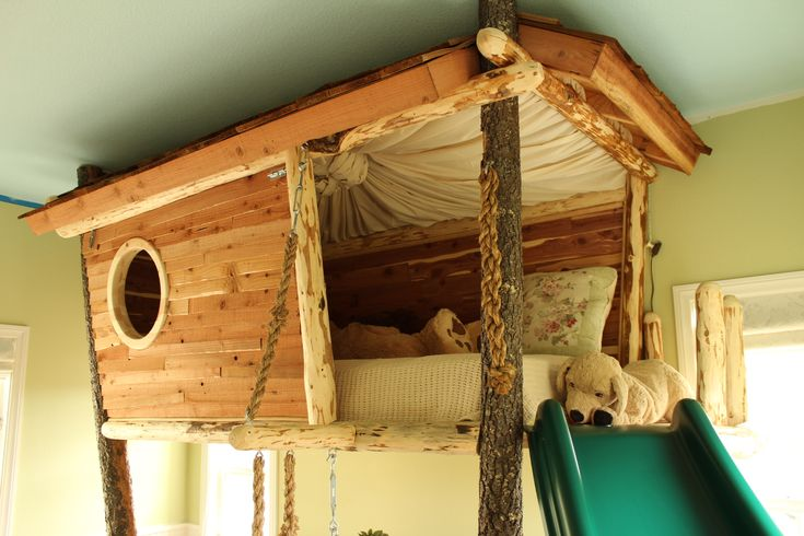 25 Treehouse Bed Designs Bedroom Designs Designtrends