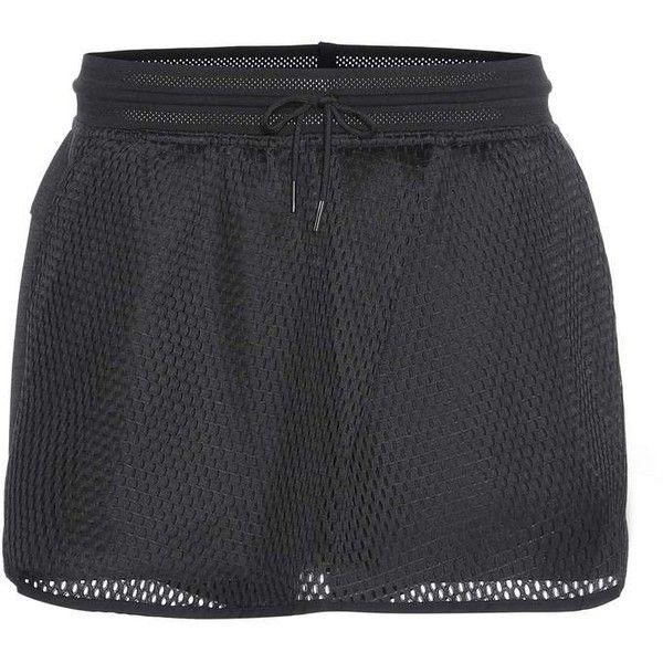 Nike Nike Court Cotton Shorts ($82) ❤ liked on Polyvore featuring shorts, black, nike, cotton shorts and nike shorts