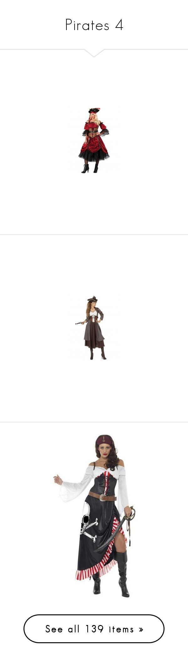 """""""Pirates 4"""" by selene-cinzia ❤ liked on Polyvore featuring costumes, halloween, sexy pirate costume, pirate costume, fringe costume, sexy pirate halloween costume, pirate halloween costume, dresses, outfit and halloween costumes"""