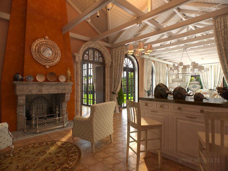 дизайн интерьера летней кухни в итальянском стиле (3).jpg (1600×1200)