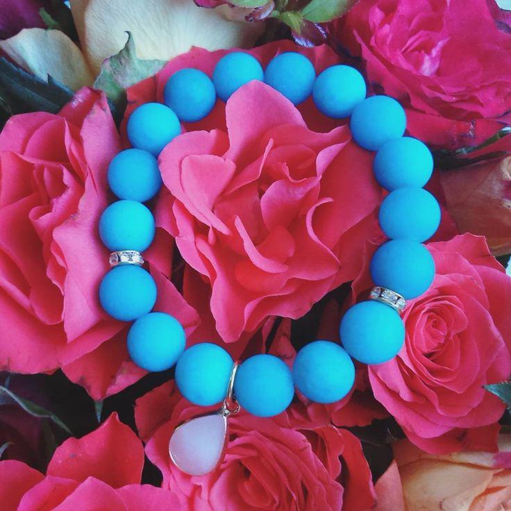 Idealny #prezent na #dzienmatki ❤  www.lafant.pl  #bracelet #bransoletki #handmade #jewellery #naturalstone #bizuteria #biżuteria #bizu #dodatki #detale #spring #flowers #roses #instagood #instalike #polishbrand #musthave #polishgirl #wroclove #poland #stylovepolki #love #lafant
