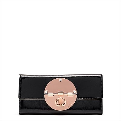 Large Leather Wallets for Women   Mimco - LARGE TURNLOCK WALLET