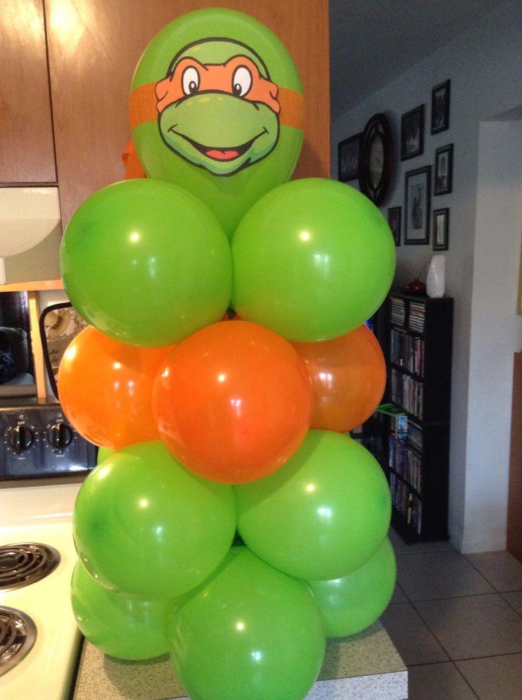 Teenage Mutant Ninja Turtles Balloon Centerpiece