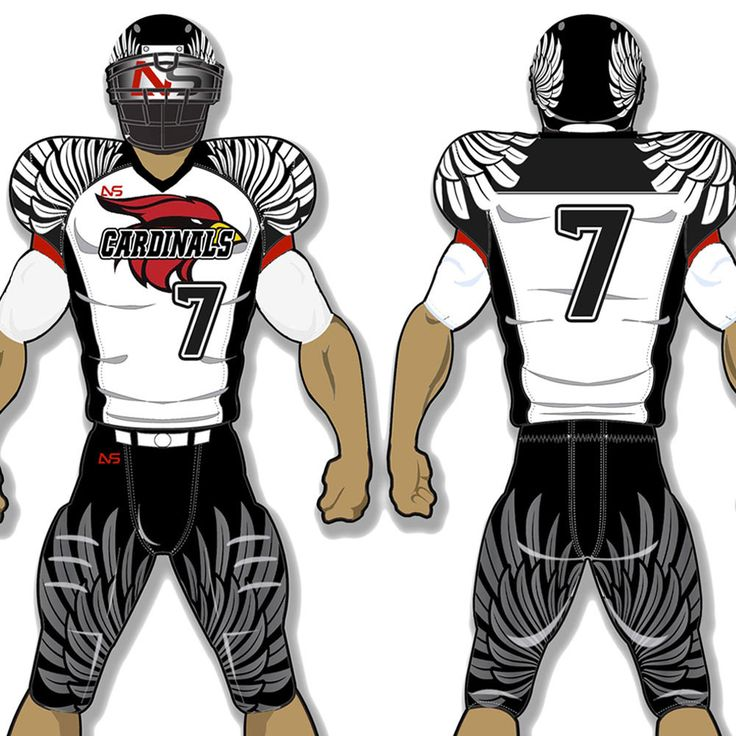 Custom Adult Football Uniforms Get your team suited up for a winning season at For The Love. We work to outfit football teams around the world in quality and affordable customized football uniforms.  Custom Adult Football Uniforms Home Page