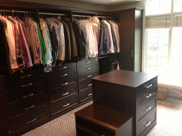 Turn That Extra Bedroom Into A Walk In Closet, And Add An Island For Maximum