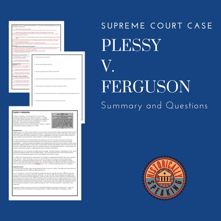 Students learn about this famous Supreme Court case!