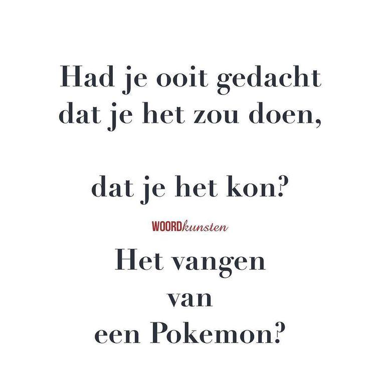 Nou vang jij ze? #woordkunsten #pokemon #hype