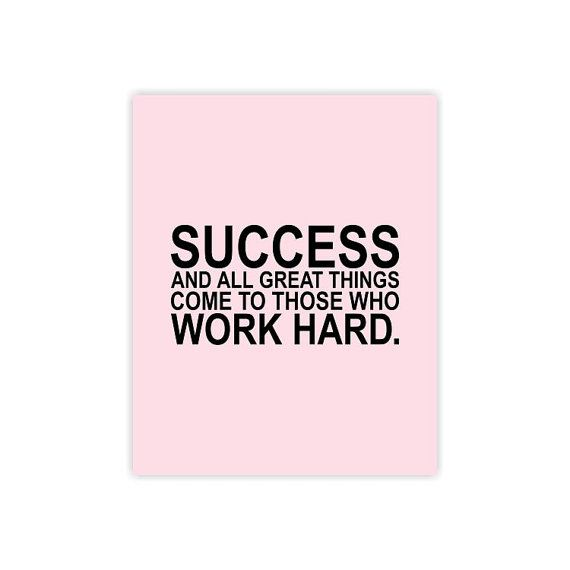 Essay about success comes to those who work hard