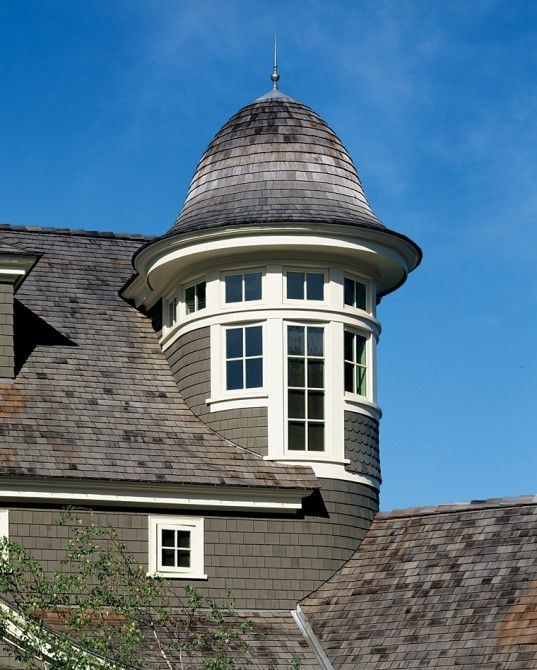 1000 images about shingle roofing on pinterest cedar for Home designs with turrets
