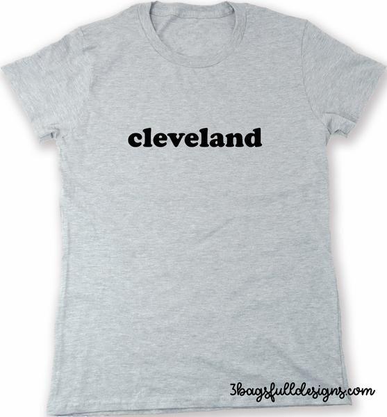 cleveland city pride t shirt