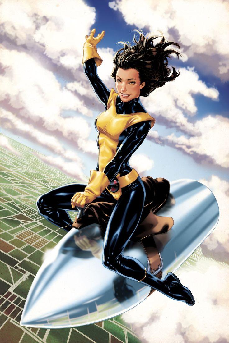 Shadowcat - Etincelle - Ariel - Sprite - Kitty Pryde ... X Men Ariel