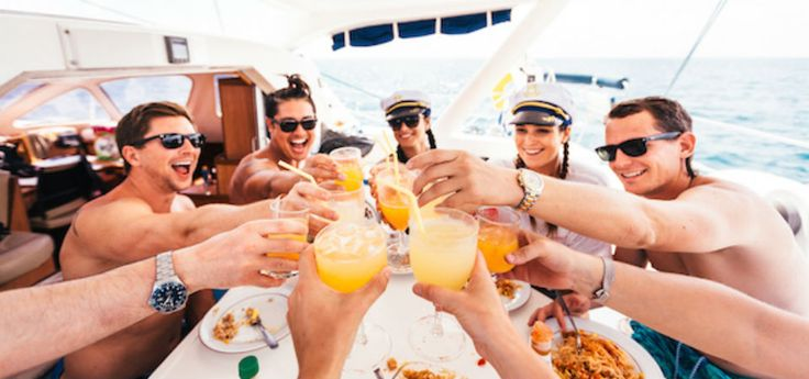Party Packages available to suit your needs #Angels #Lavish #Gold #BoatCruise #RockStar Book Online at any time! https://glamorentertainment.com.au/party-packages/bucks-party
