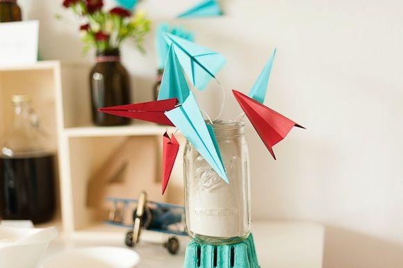 Un anniversaire thème avion pour Louis, 4 ans