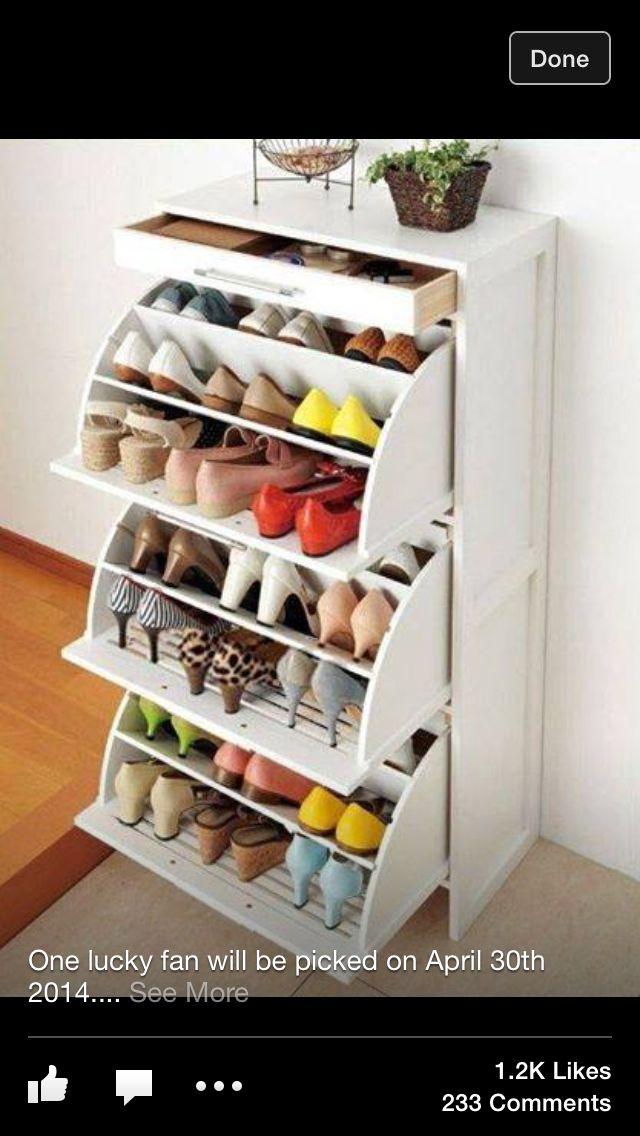 Awesome shoe rack idea 11 best Zapatero
