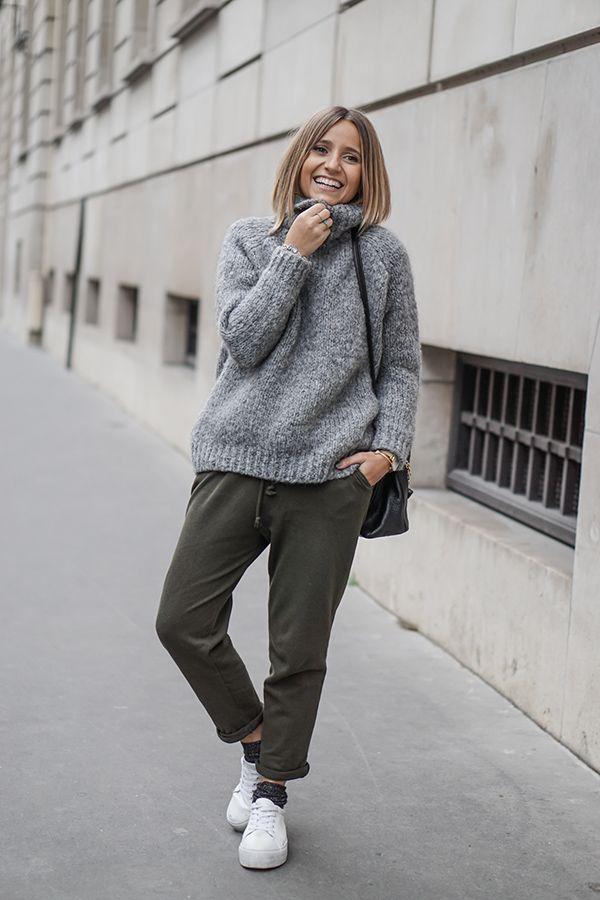 Suéter largão é um must have que não pode faltar no armário das francesas mais estilosas