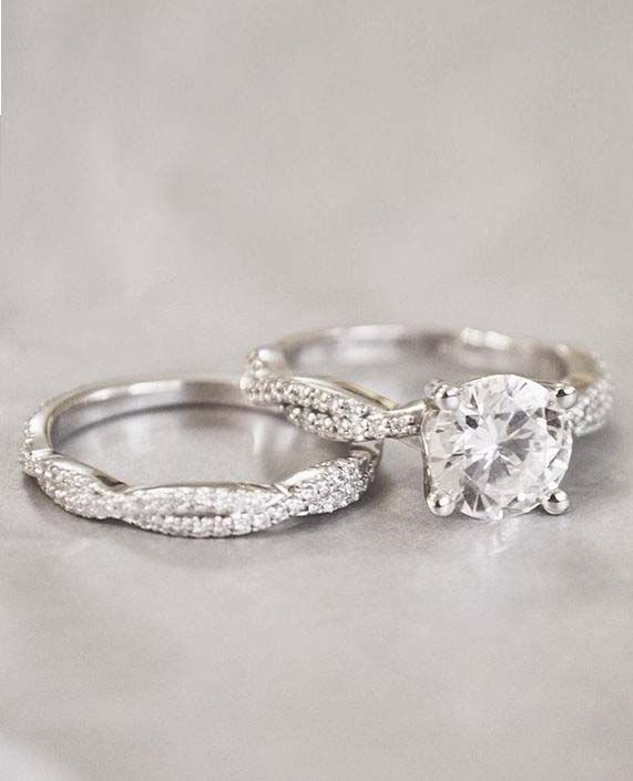 f5f60ecfac Glamour and Cheap Black Diamond Wedding Ring Sets for Great Wedding Couple  | Wedding Ideas | Diamond wedding rings, Wedding Rings, Engagement Rings
