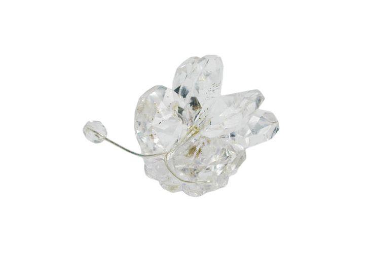 Farfalla piccola in cristallo Swarovski assemblato per il fai da te della bomboniera