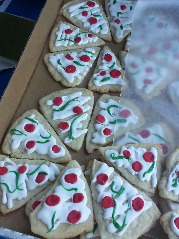 pizza cookies - sugar cookie, 20 second icing and fondant