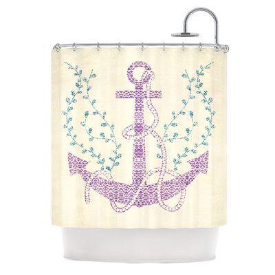 KESS InHouse Shower Curtain Color: Tribal Nautica