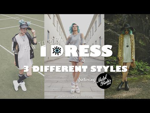 HOW TO STYLE A SEQUIN DRESS IN 3 SASSY WAYS by VINTAGEENA - YouTube
