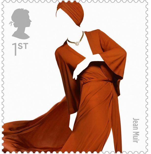british fashion stamps: Stamp Sets, Jeans Muir, Royals Mail, Fashion Stamps, Stamps Sets, British Fashion, Johnson Banks, Design, Postage Stamps