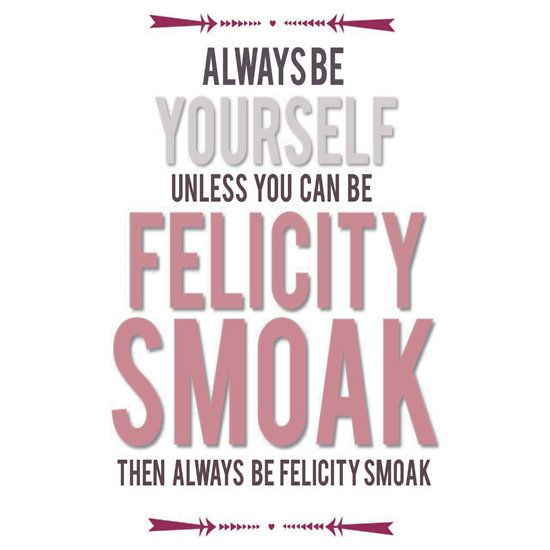 """""""Felicity Smoak"""" T-Shirts & Hoodies by MelodieMorley   Redbubble <3<3<3"""