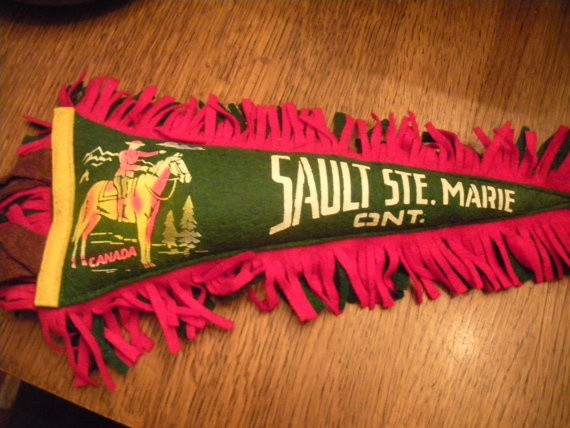 Vintage Sault Ste Marie Ontario Canada by WhereTheRoosterCrows, $13.50